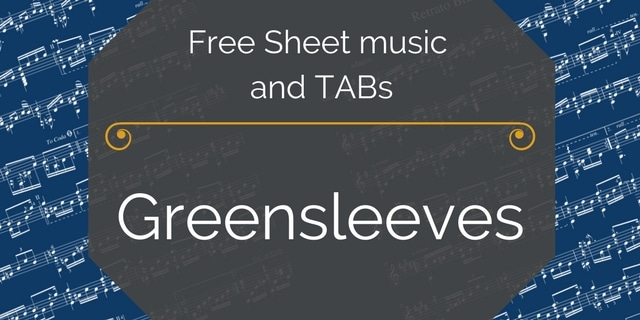greensleeves free pdf
