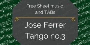 free ferrer tango pdf