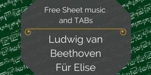 free beethoven fur elise pdf