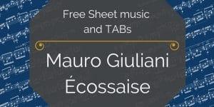 free giuliani ecossaise pdf