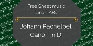 free canon in d pachelbel