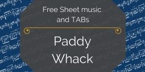 free paddy whack pdf