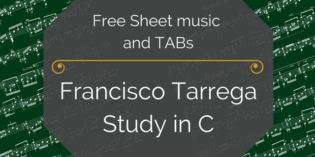 free tarrega study pdf