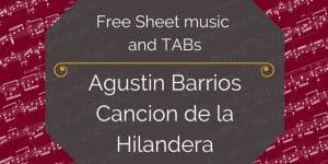free Barrios guitar pdf