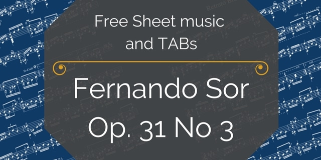 Free Sheet music and TABs(6)