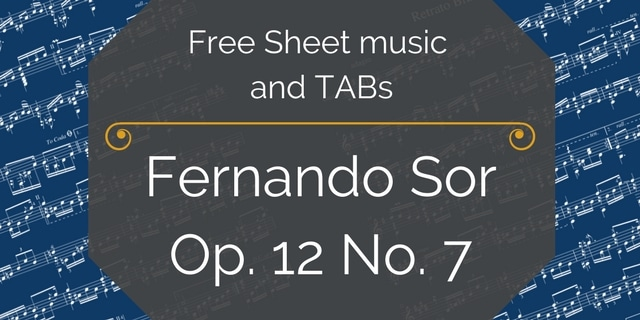 Free Sheet music and TABs(7)
