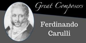 Carulli free sheet music tabs