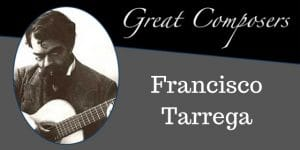 Tarrega free sheet music tabs