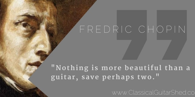 quote chopin guitar
