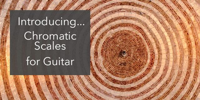chromatic scale classical guitar