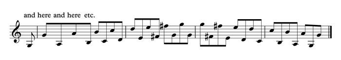 octave phrasing