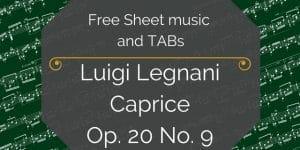 Legnani Caprice free pdf