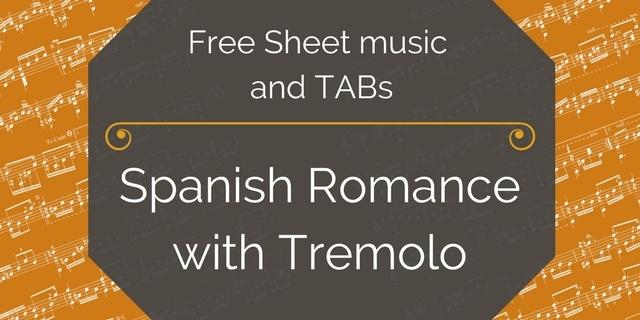 romance tremolo free pdf