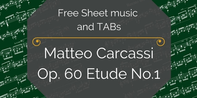 free carcassi etude pdf