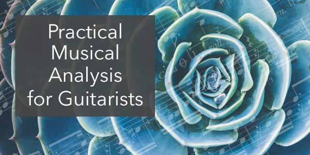 learn guitar music analysis