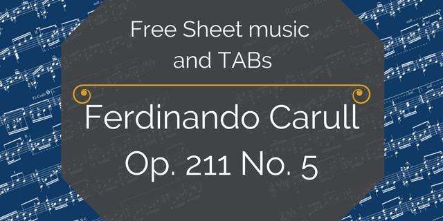 Carulli free pdf guitar