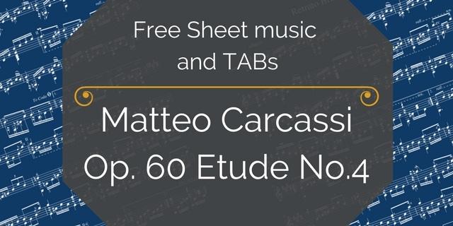 Carcassi Guitar Free pdf