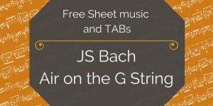 Bach Air G String Gutiar