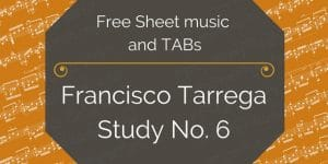 Tarrega etude free pdf