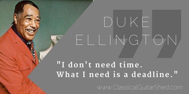 Duke Ellington time guitar