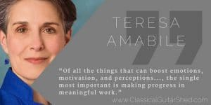 Teresa Amabile motivation guitar