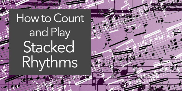 stacked rhythms classical guitar sheet music