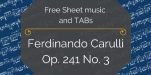 Carulli guitar free pdf
