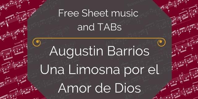 Barrios Una Limosna free pdf
