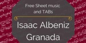 Albeniz Granada free pdf