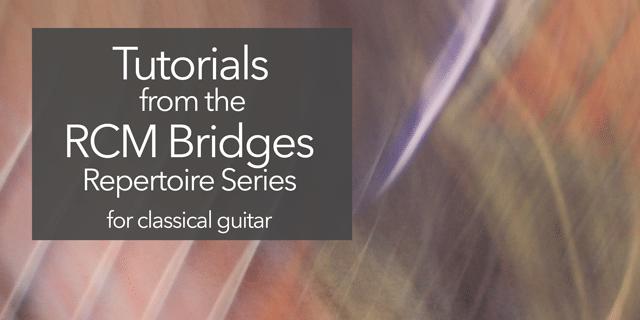 RCM Bridges guitar lessons tutorials