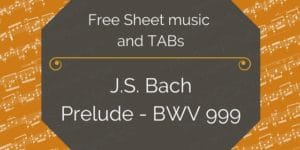 bach guitar download music