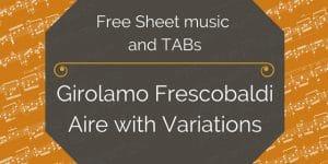 frescobaldi guitar free pdf