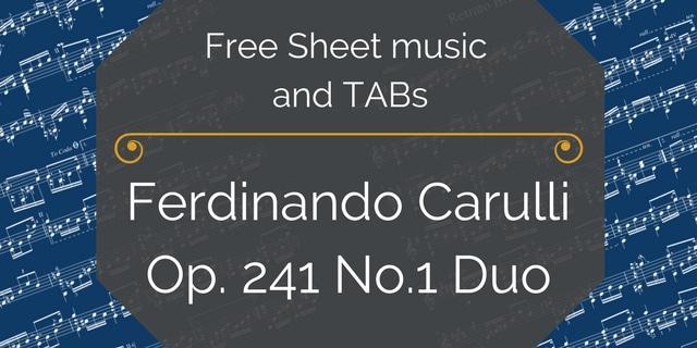 carulli duo beginner guitar