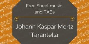 mertz tarantella free pdf