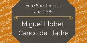 llobet canco pdf guitar