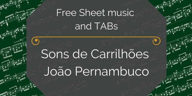 carrilhoes free guitar pdf