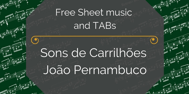 carrilhoes free guitar pdf