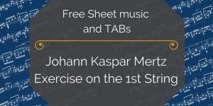 mertz exercise guitar free