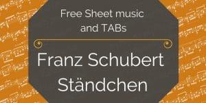 Schubert guitar free pdf