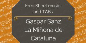 sanz cataluna free guitar