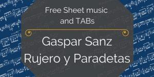 sanz free music sheet music