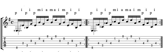 villa-lobos etude 1 classical guitar