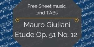 giuliani guitar music pdf