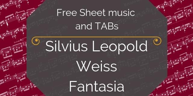 Weiss free guitar music