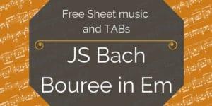 Free pdf guitar bach