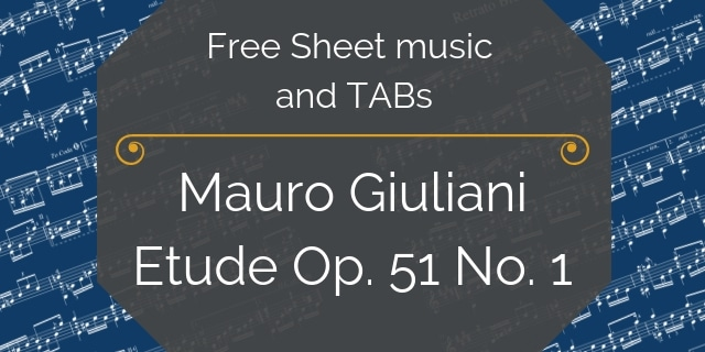 Giuliani free music pdf