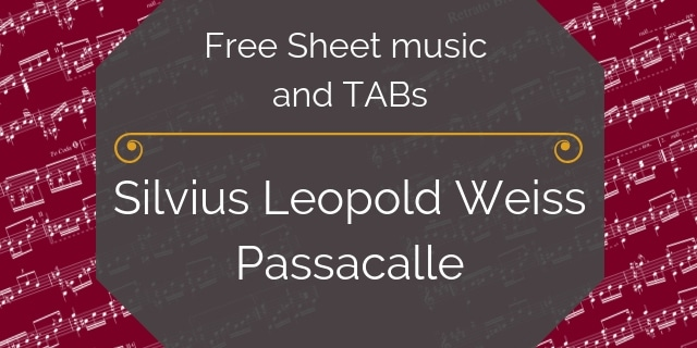 Weiss free guitar pdf