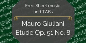 Giuliani Free Sheet Music