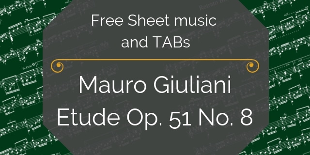 Giuliani Free Sheet Music