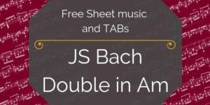 bach free notation guitar